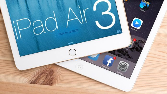 The iPad Air 3 coming March