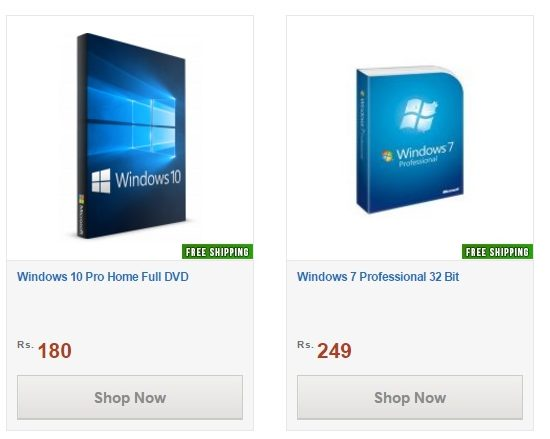 shopclues selling windows