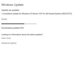 Cumulative Update KB3135173