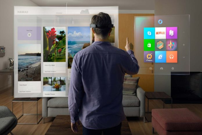 hololens UI leaked video
