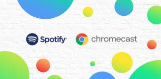 Chromecast with three months of Spotify Premium