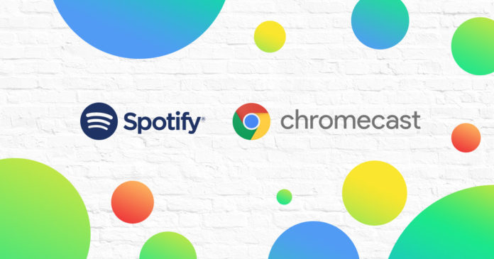 Chromecast with three months of Spotify Premium