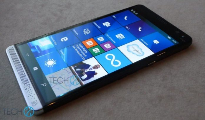 HP Elite x3 Phone spotted