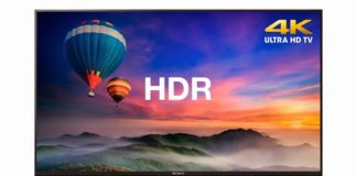 Sony's latest 4K HDR TVs