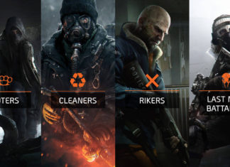 The Division's various criminals