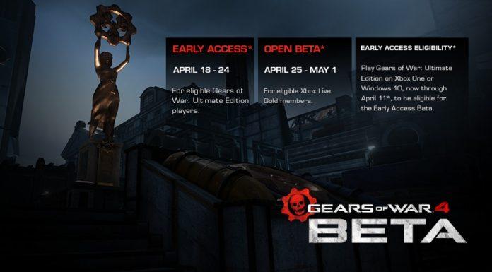 gears of war 4 beta