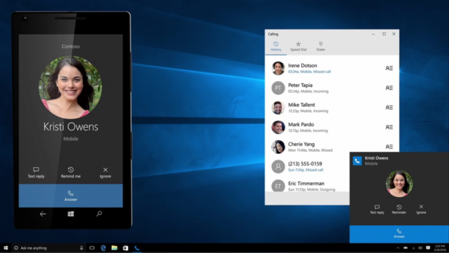 Windows-10-Anniversary-Update-Phone-integration