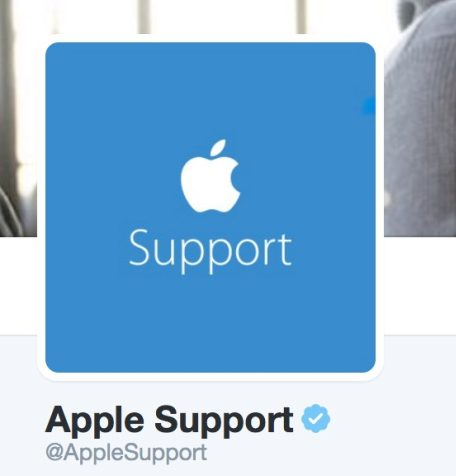 apple support on twitter