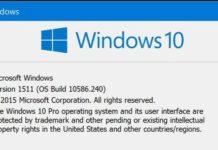 Windows 10 build 10586.242