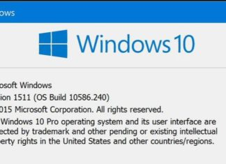 Windows 10 build 10586.242