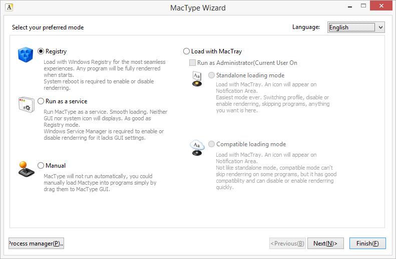 Windows Mactype Font