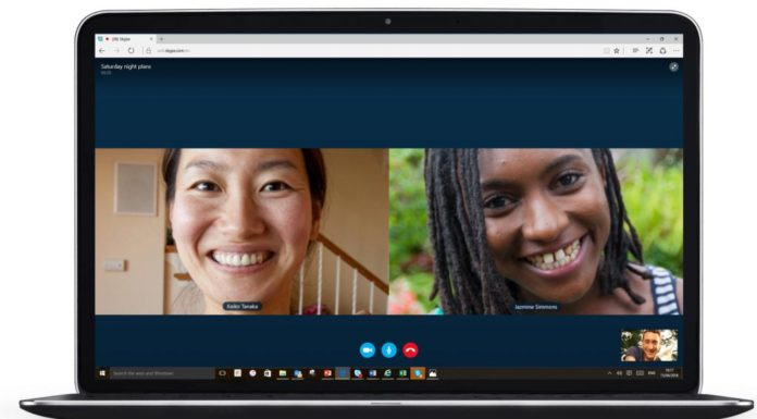 Skype with Microsoft Edge