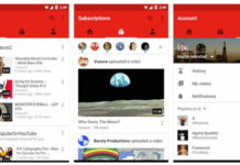 Youtube redesigned Home interface
