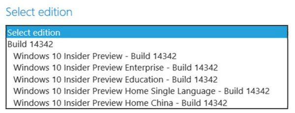 Build 14342 ISO