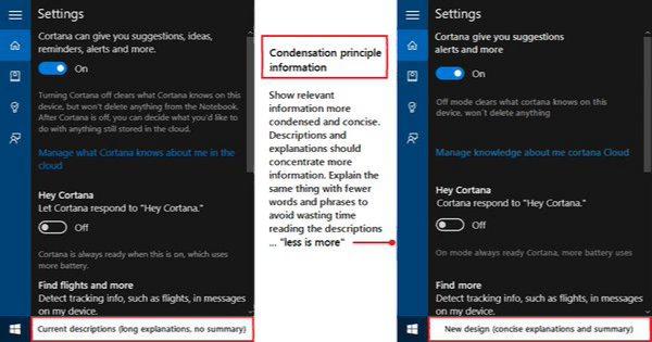 New Cortana Setting
