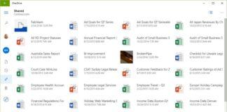 offical OneDrive UWP app