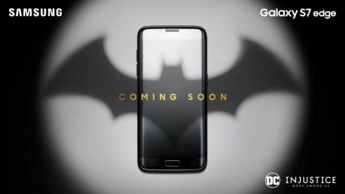 Samsung S7 edge DC injustice Gods among us Edition phone