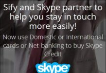 Pay for Skype Credits in India with Indian debit cards