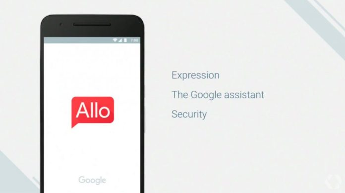 Google Allo Google assistant