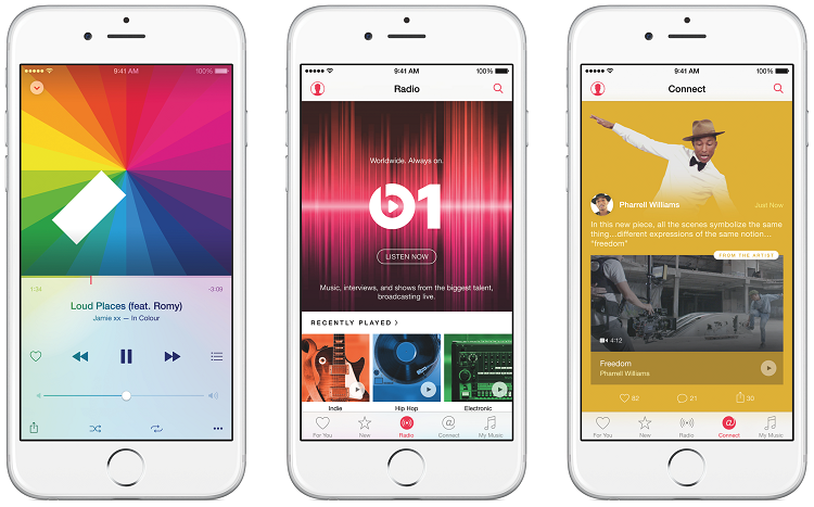 Apple Music in iOS 10