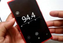 No More FM Radio app for Windows Mobile