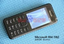 RM-1182 Microsoft Feature phone budget phones