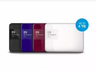 4TB HardDisk Western Digital 4TB My Passport Ultra hard drives