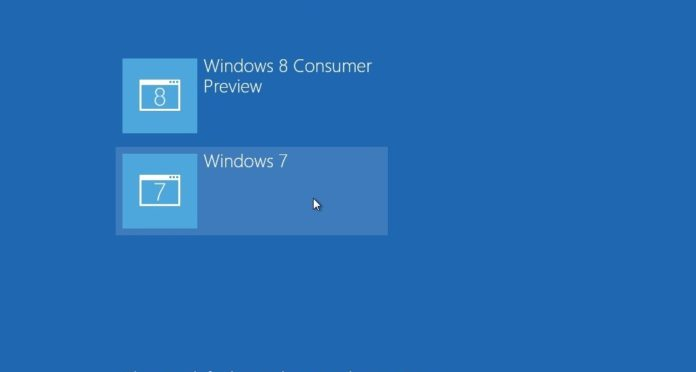 two Windows on the same partition Dual-boot