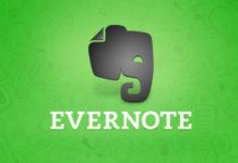 Evernote Edge extension