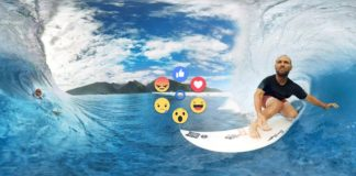 Facebook enables VR Reactions
