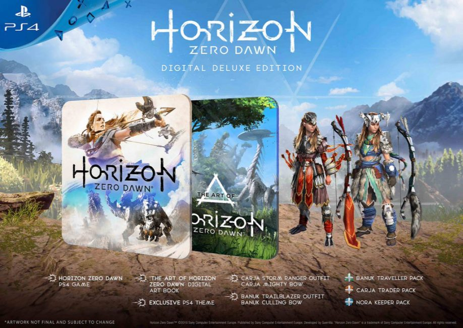 Horizon Zero Dawn Digital Limited Edition