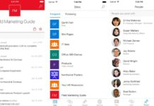 Microsoft SharePoint App for iOS