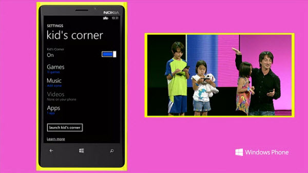 Microsoft will remove Kids Corner feature from Windows 10 Mobile