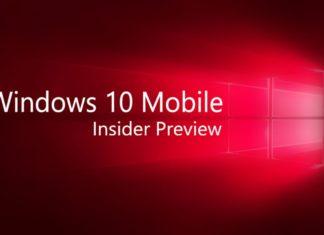Windows 10 Mobile build 14372