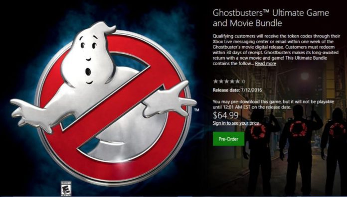 Ghostbusters Ultimate Game And Movie Bundle
