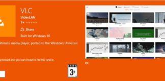 VLC UWP Beta app