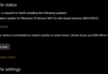 Cumulative Update KB3176927 build 14393.5