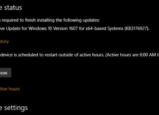 Cumulative Update KB3176927 build 14393.5