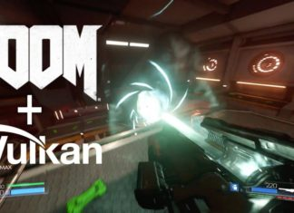 Vulkan support for DOOM game