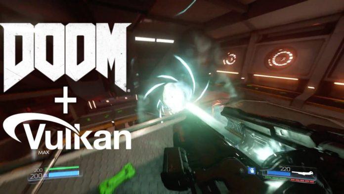 Vulkan support for DOOM game