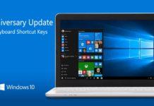 shortcut Keys for Windows 10
