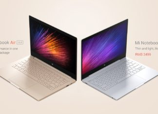 Xiaomi Mi Notebook Air launched