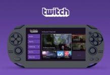 Twitch PlayStation Vita app