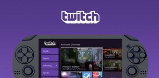 Twitch PlayStation Vita app