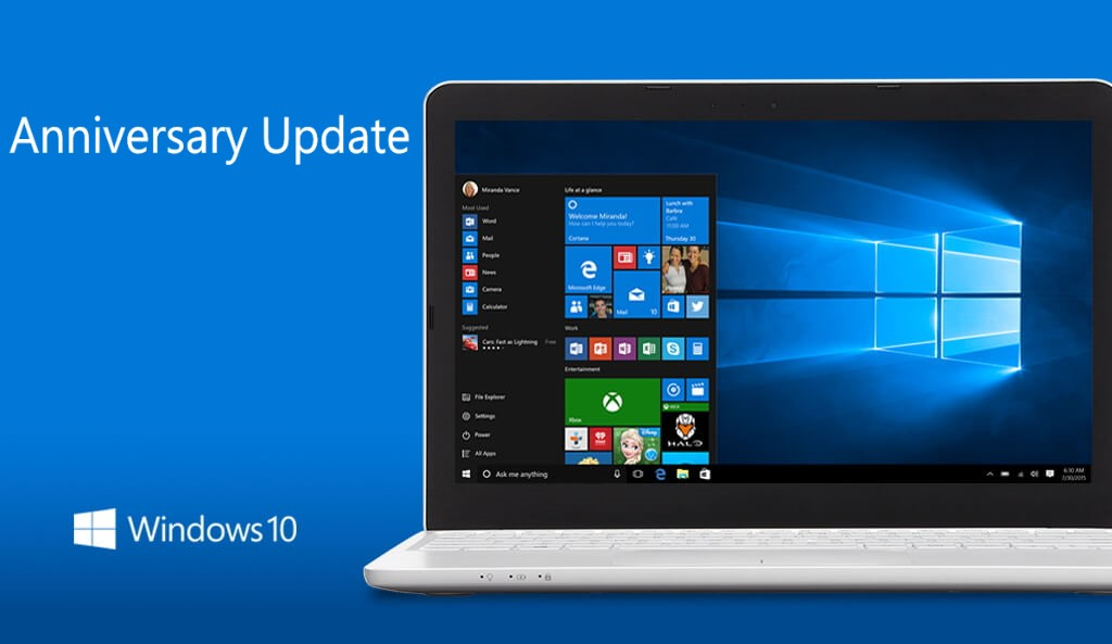 Windows 10 anniversary update build 14393 iso available for Window 10 iso