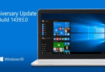 New in Windows 10 Build 14393.0 and Mobile build 10.0.14393.0 for slow ring