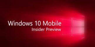 Windows 10 Insider Mobile Build 10.0.14388