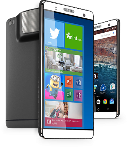 Holofone Phablet windows 10 android