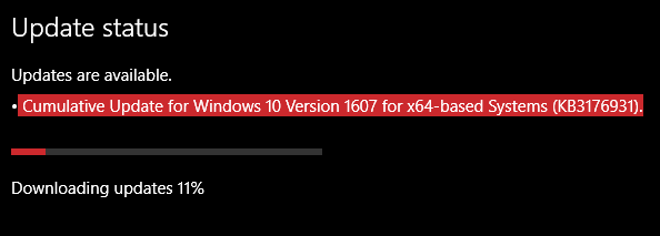 Build 14393.67