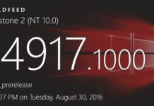 Windows 10 build 14917 and mobile build 10.0.14917.1000